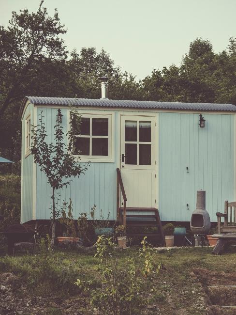 Petite maison container à la campagne