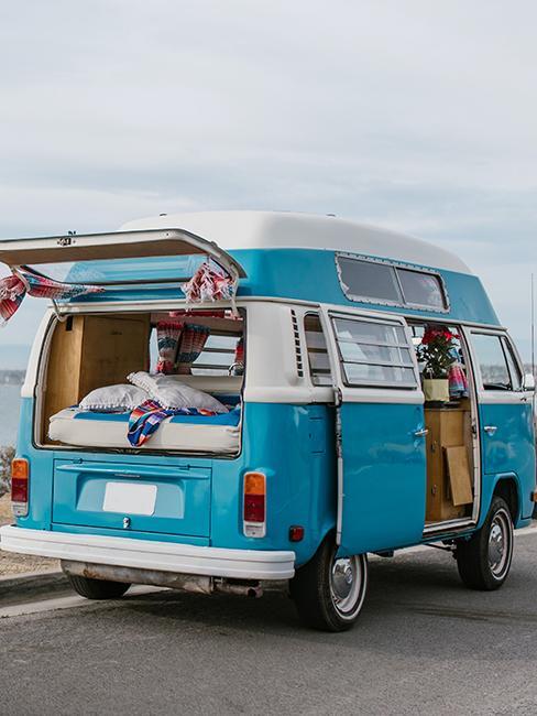van vintagle bleu
