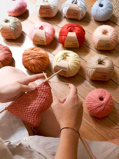 pelottes de laine