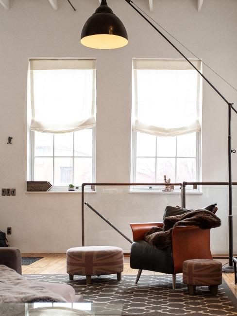 chambre salon moderne grenier