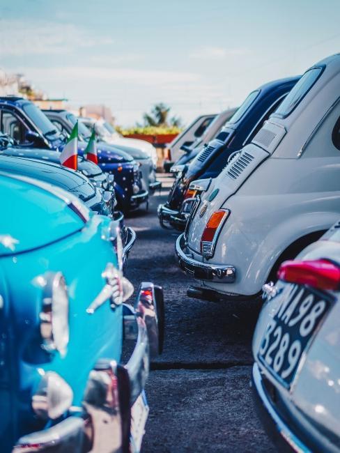 voitures italiennes de la marque fiat