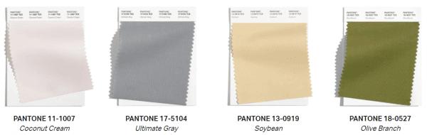 couleurs pantone classiques