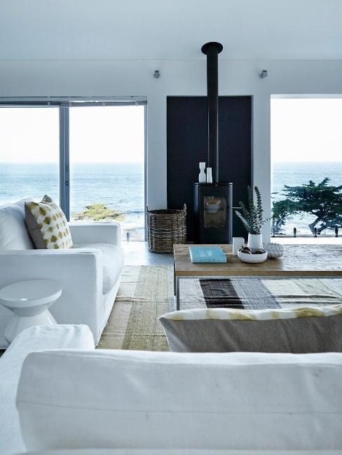 salon blanc style bord de mer