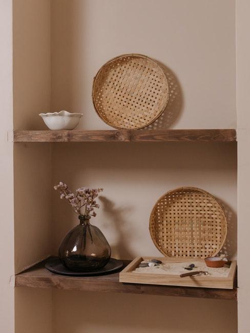 étagère niche décoration inspiration japandi