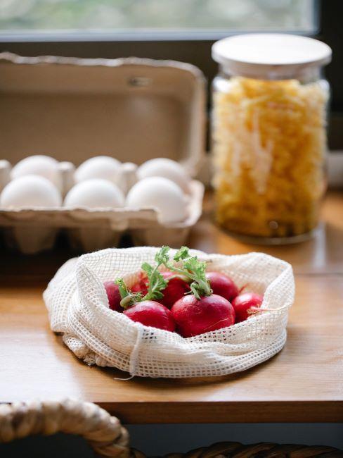 emballage zéro déchets, alimentation, cuisine écologique, durabilité