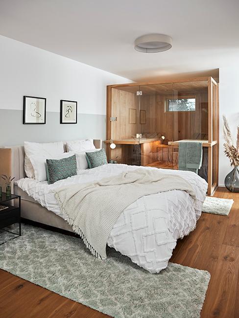 chambre avec sauna