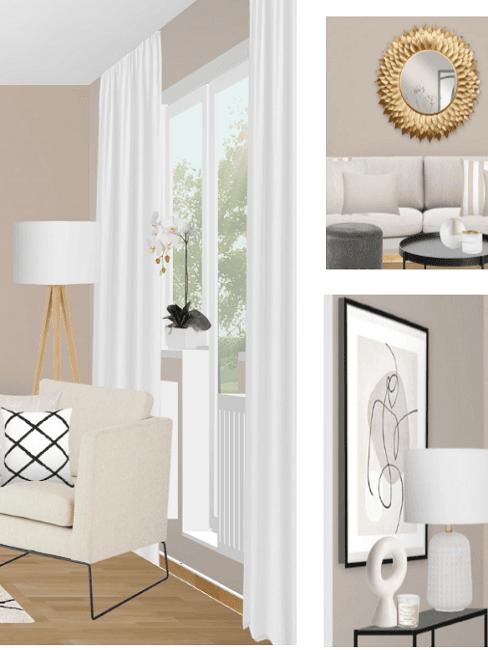 projet westwing pour meubler un salon en longueur