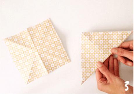origami de noel step 3 DIY