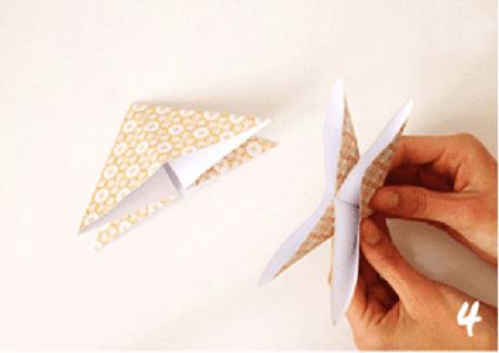 origami de noel step 4 DIY