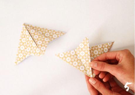 origami de noel step 5 DIY