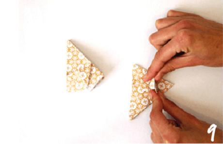 origami de noel step 9 DIY
