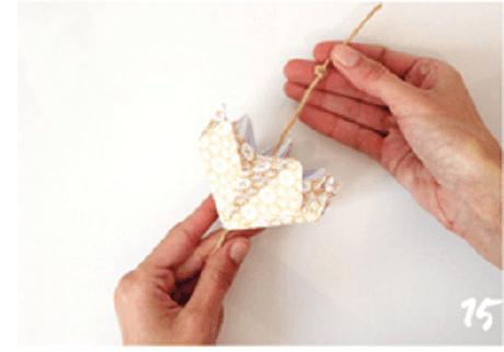 origami de noel step 15 DIY