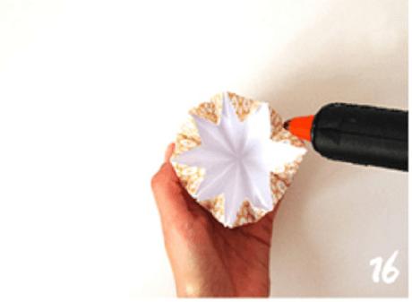 origami de noel step 16 DIY