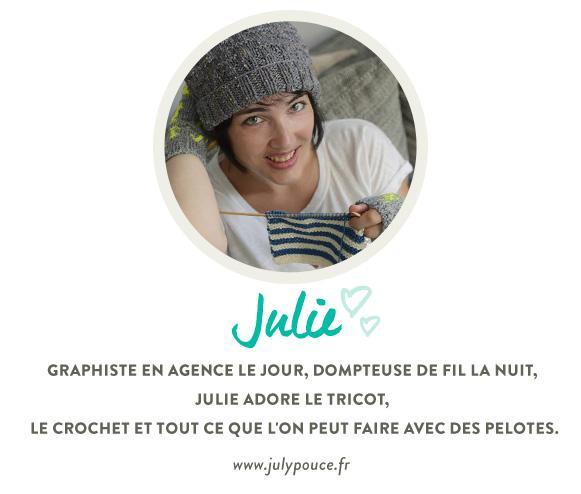 portrait julie de julypouce.fr