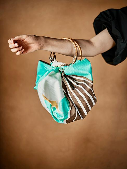 sac en tissu furoshiki