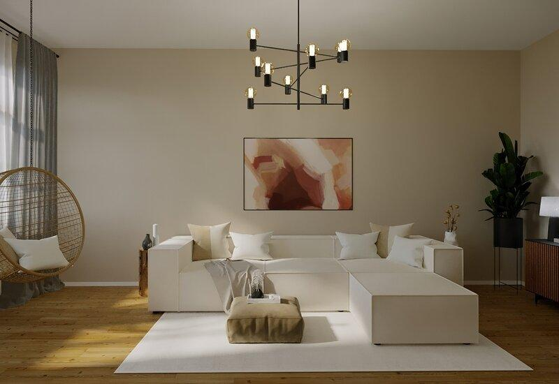 projet salon Westwing deco cosy