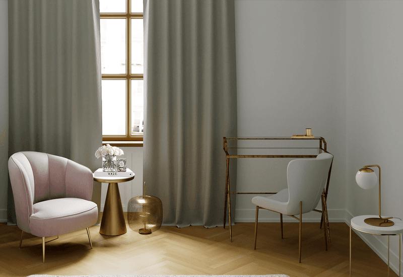projet 3D westwing pour aménager une maison dans un style glamour