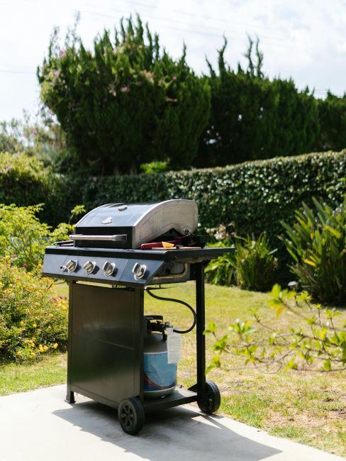 griglia in giardino