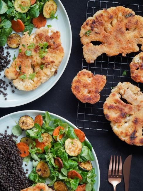 opzione vegetariane e vegane alla grigliata