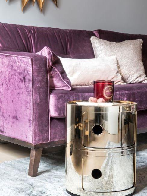 divano colore viola