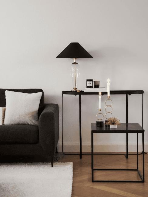 Dettaglio soggiorno minimal