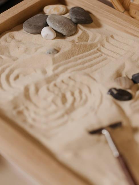Sabbia simbolo del movimento