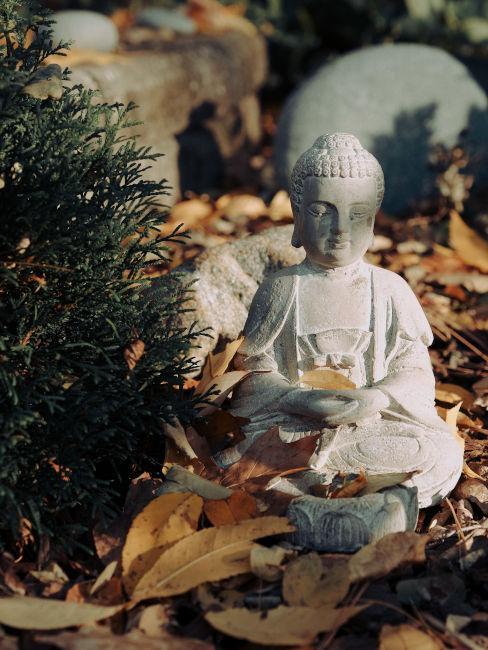 statua budda decoro giardino