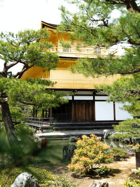 Esempio laghetto in giardino giapponese