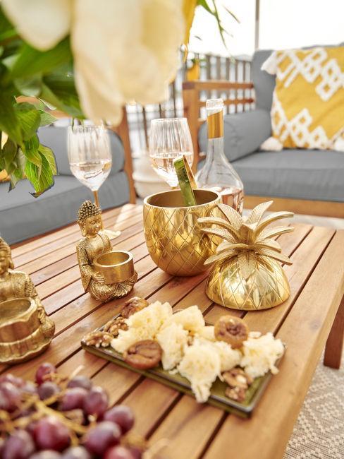 decori da tavola estivi