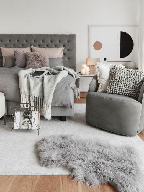 addobbi invernali camera da letto