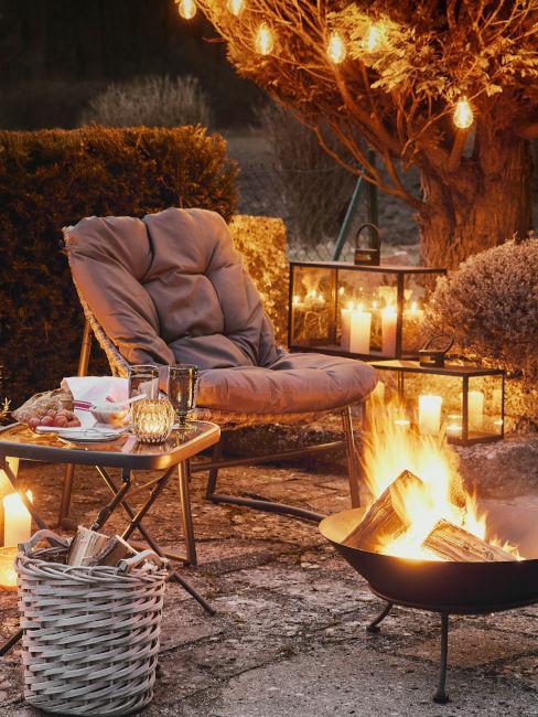 decorazioni da esterno per stagione fredda