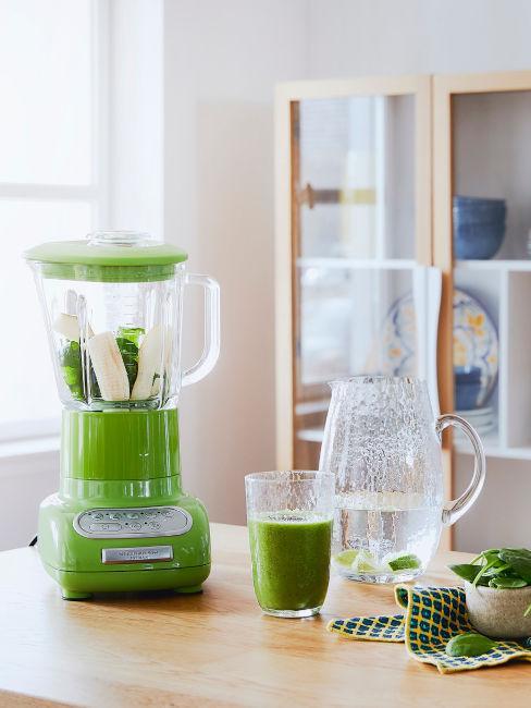 piccoli elettrodomestici da cucina colore verde