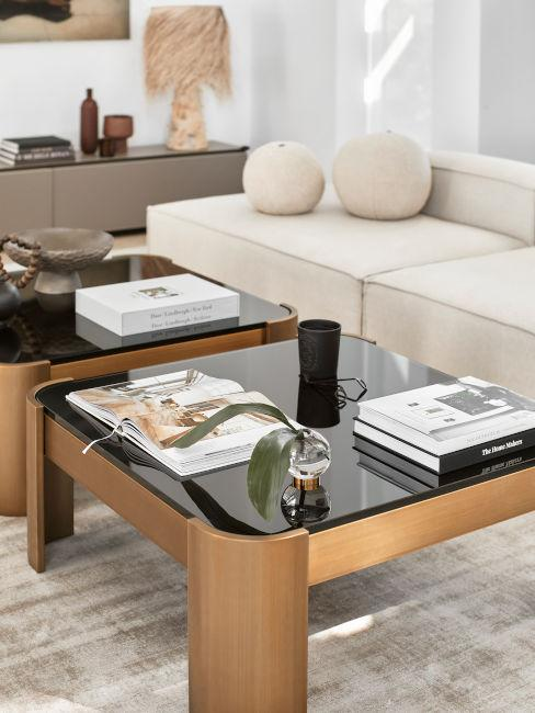 set due tavolini per soggiorno
