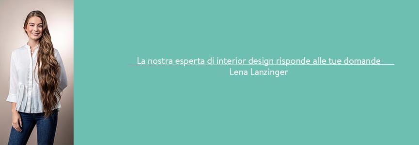 Interior designer Lena Lanzinger
