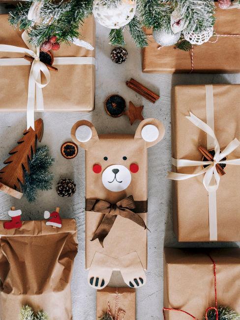 confezione regalo a forma di animale per bambini