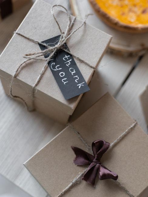 confezione regalo sostenibile