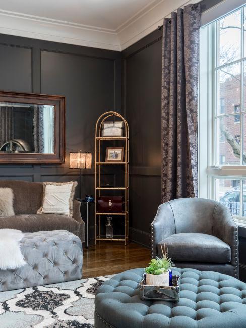 Arredamento moderno per appartamento d'epoca