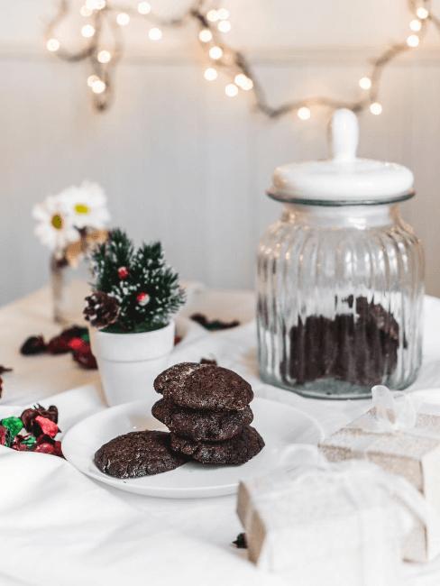 biscotti di natale vegan e senza glutine