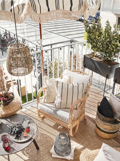 decorare balcone