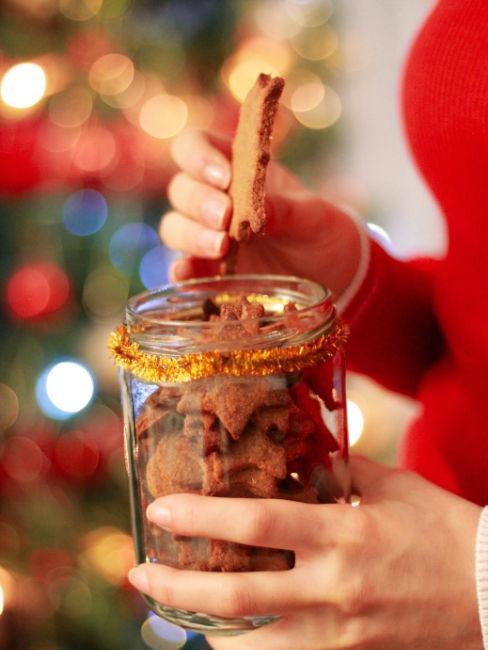 regalo biscotti in barattolo