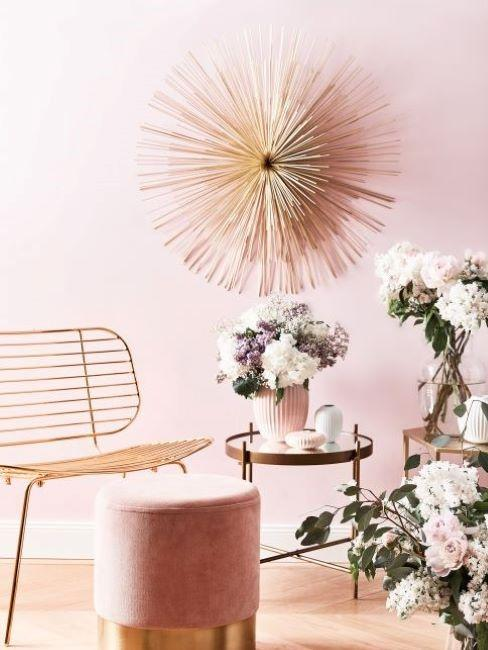 colori pareti rosa