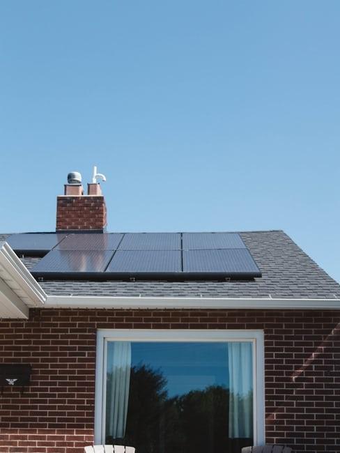 Casa passiva con impianto fotovoltaico