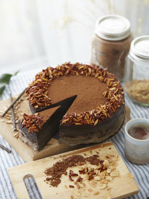 decorazioni torta con cioccolato