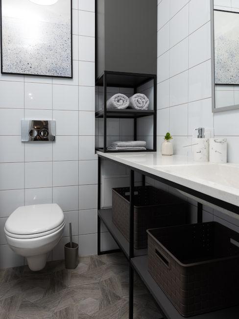 mobile bagno stile minimal