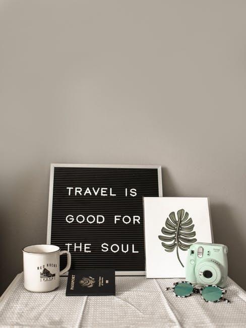 Viaggiare fa bene all'anima