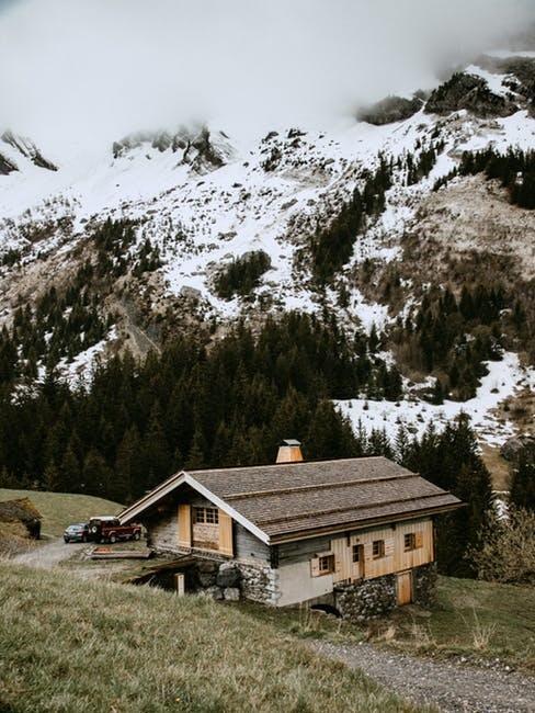 Chalet in montagna