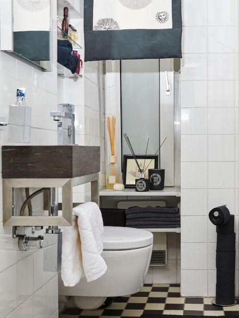 bagno di servizio per arredare il sottoscala