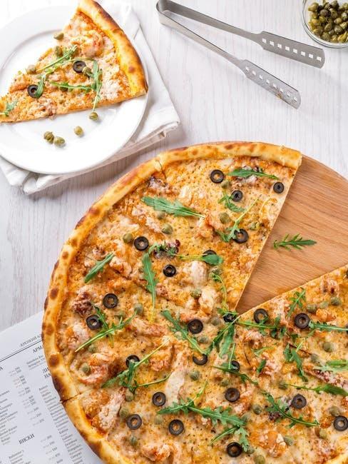 Cosa mangiare a pranzo: pizza