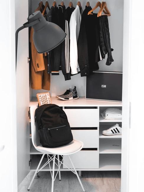 Riordinare l'armadio