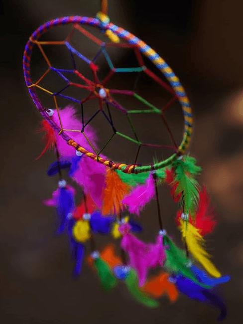 Acchiappasogni colorato